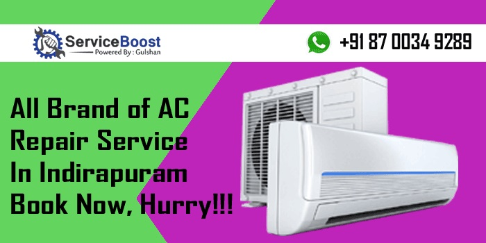 Serviceboost Windows AC Air Conditioner Repair Service in Vasundhara